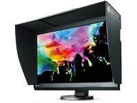 Eizo ColorEdge 243W IPS calibrated retouching monitor + cables, box, accessories