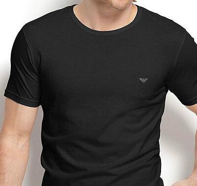 Armani Men's Emporio Armani Cotton Chest Logo Crewneck Tee - XL