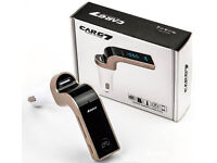 New CARG7 Bluetooth Car Charger