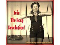 Hula Hoop For Beginners 6 week course Starts 12th September