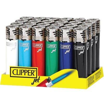 Clipper Original Feuerzeug 'Jet Flame Classic' 1-4 Stück Feuerzeuge NEU