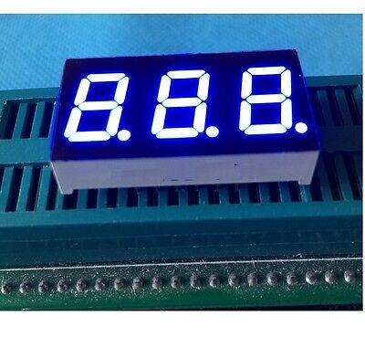 2pcs 0.28 Inch 3 Digit Led Display 7 Seg Segment Common Anode Blue