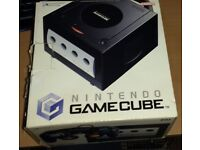 Nintendo Gamecube Console - Boxed with extra controller.
