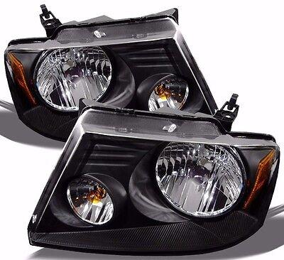COUNTRY COACH INSPIRE 2007 2008 2009 2010 BLACK HEADLIGHTS HEAD LAMPS RV - SET