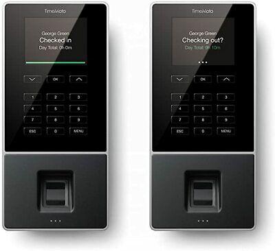TImeMoto TM626 Arbeitszeit Erfassung Fingerabdruck RFID Software System gesperrt