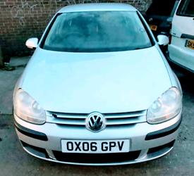 VW GOLF MK5 Petrol 1.6 FSi 5-dr SILVER 2006 NEW 12 M MOT £995