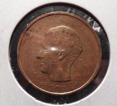 CIRCULATED 1980 20 FRANCS BELGIUM  COIN! (83115)