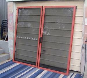 Two Large Size Sliding Aluminium Doors Inala Brisbane South West Preview