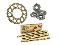 BMW HP4 Carbon 2013-2014 Renthal//DID Ultimate Racing Chain /& Sprocket Kit
