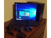 FREE MONITOR Dell Optiplex 790 PC Computer SFF Intel Core i5 8GB 250GB Win10Pro