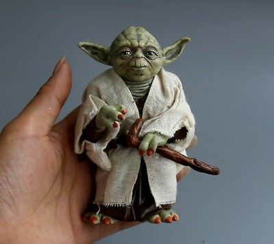 "4.7"" Star Wars Jedi Knight Master Yoda Action Figure Collectible Model Toy Doll"