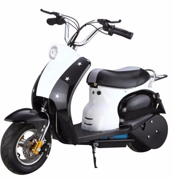 Rocket retro pocket mod 24 volt electric ride on scooters (new and unused)