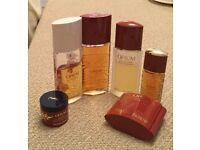 Vintage,discontinued ,rare YSL perfume collection (6 items)
