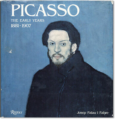 Josep Palau i Fabre PICASSO:  THE EARLY YEARS 1881-1907 1st eng ed/dj VG/VG for sale  Winchester