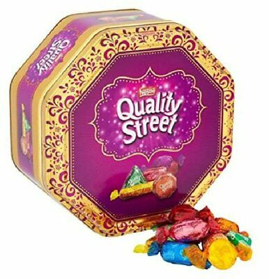 Nestle Quality Street Chocolates & Toffees Assortment 1KG Tin Sharing Gift