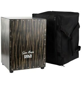 Pro Series Cajon Drum tight Snare & Great Bass includes gig case