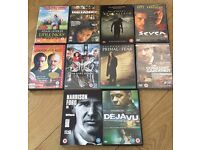 10 various dvds