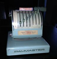 Paymaster Canadian Series X-550 - LOWER PRICE