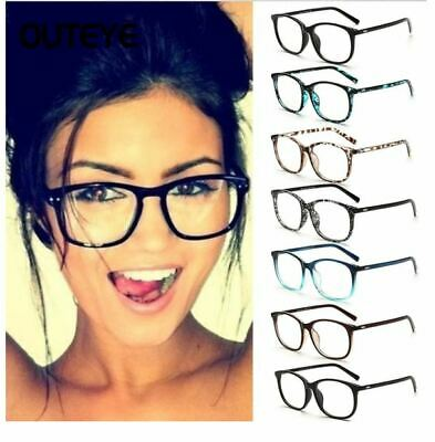 Transparent Clear Lens Eyewear Trendy Fake Glasses That Look Real For (Fake Glasses For Women)