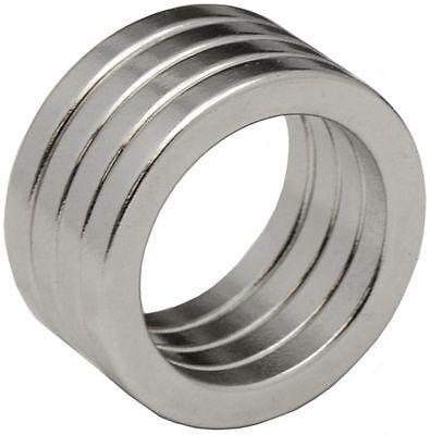 4 Neodymium Magnets 1 X 34 X 18inch Ring N48