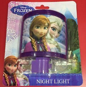 new disney frozen night light kids bedroom anna elsa ebay