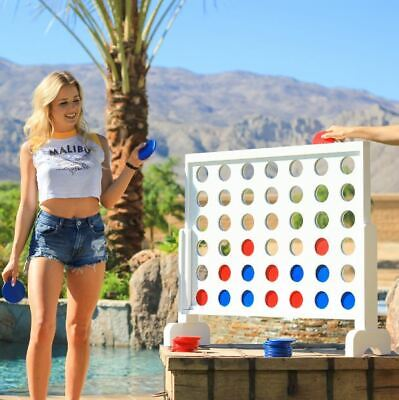 Connect 4 Giant Yard Game Outdoor Beach Tailgating Party Board Four Lawn Wedding - Outdoor Wedding Games