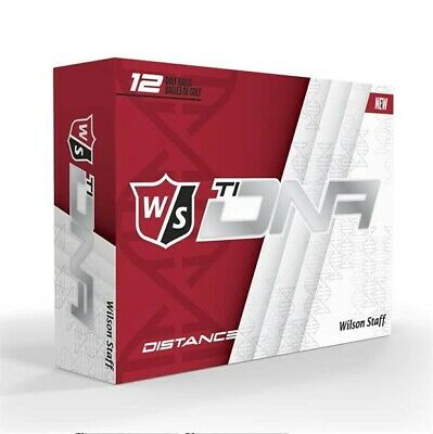 Wilson Staff Golf Balls Ti-DNA Distance x12 1 2 Dozen NEW **FAST POST**