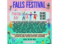 Falls Festival Marion Bay 3 days ticket