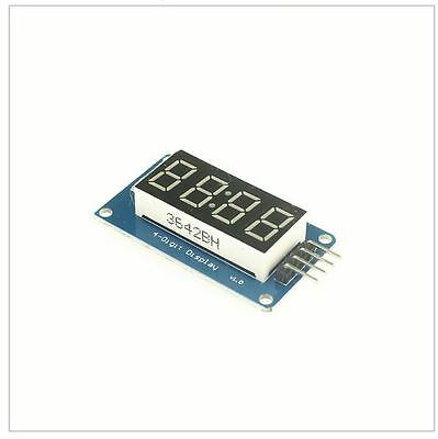 4 Digit Seven 7 Segment Display Red Tm1637 Arduino Pi I2c 3.3v 5v