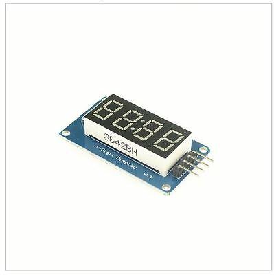 4 Digit Seven 7 Segment Display Red Tm1637 Arduino Pi I2c 3.3v 5v