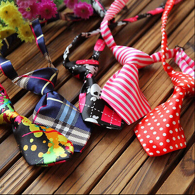 140PCS Wholesale Pet Clothes Dog Necktie Cat Bowtie Kid Necktie Tie Adjustable