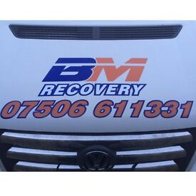 Recovery breakdown and transport services