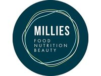 Store manager for independent city centre health food store Millies