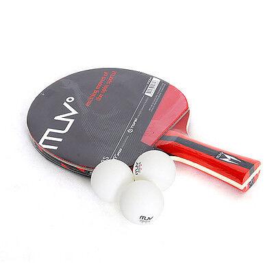 XIOM M1.8S Table Tennis Ping Pong Racket Paddle Bat Blade Shakehand 3 balls Set
