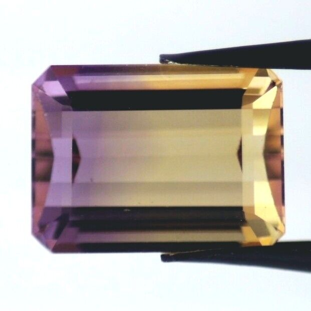 AMETRINE 14 x 10 MM EMERALD CUT ALL NATURAL F-1735
