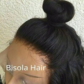 illusion Natural Realistic Hair Line Glueless Full Lace Wig London, New York , Lagos