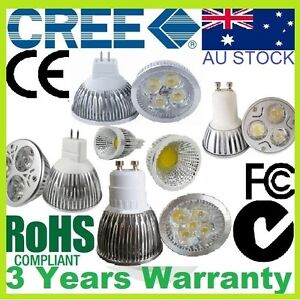 CREE-LED-MR16-GU10-7W-COB-9W-12W-15W-12V-240V-Bulb-Downlight-Spotlight-Warm-Cool