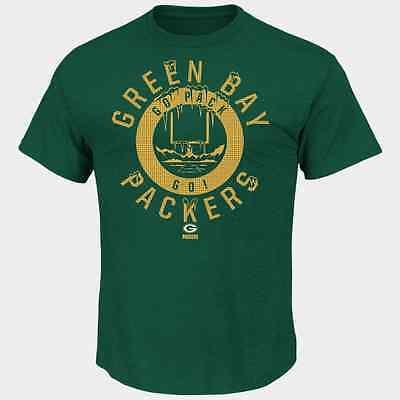 Nfl Green Bay Packers Majestic Mens Keep Score T Shirt   Green