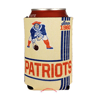 New England Patriots Vintage Design 2 Sided Can Holder