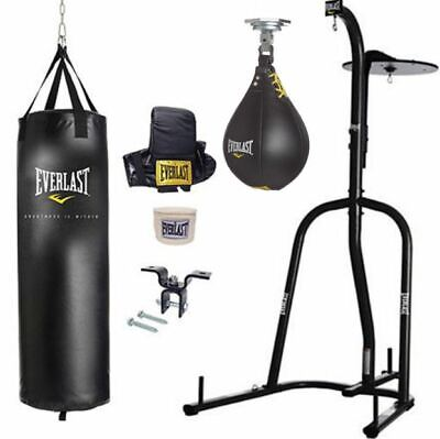 Best Punching Bag Kit Heavy Freestanding Speed Boxing Home Gym Workout