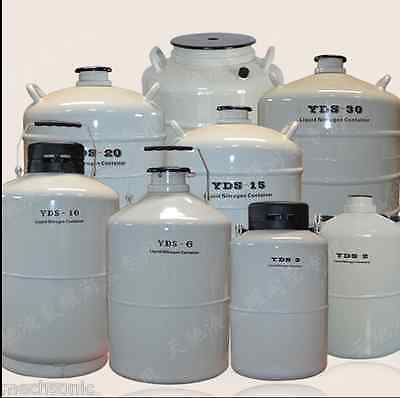 15l Liquid Nitrogen Ln2 Storage Tank Static Cryogenic Container With Sleeve S