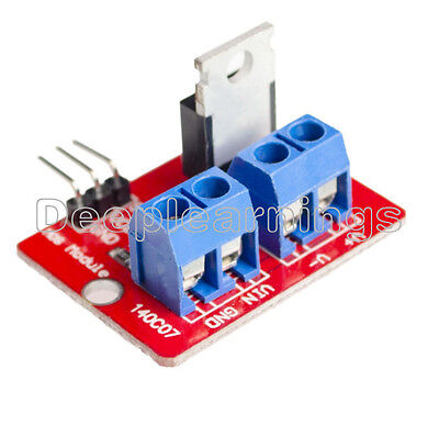 10pcs Top Mosfet Button Irf520 Mosfet Driver Module For Arduino Arm Raspberry Pi
