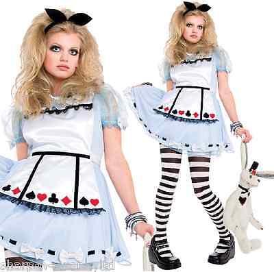 Kinder Mädchen Kinder Alice Im Wunderland Buch Tag Woche Kostüm Outfit