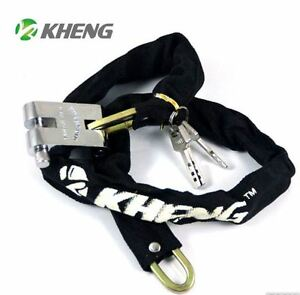 Nouvelle CADENAS CHAINE VELO  -  New Heavy duty Chain Bike  Lock