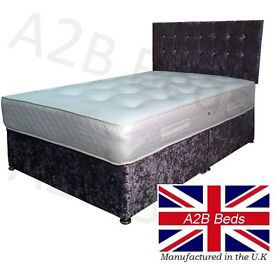 Double Bed With Without Mattress In Sunderland Tyne And