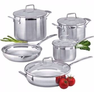 SCANPAN 5PC IMPACT COOKWARE SET - rrp $639 *BRAND NEW & SEALED