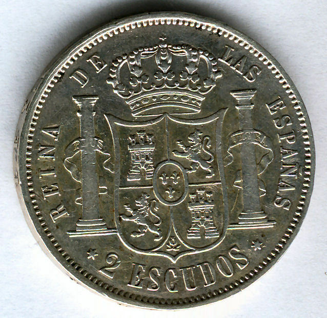 Isabel Ii 2 Shields 1867 Madrid @@ Very Beautiful @@@