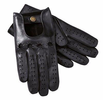 New Genuine Porsche Womens Black Leather Gloves Size Medium WAP 518 002 0H ()