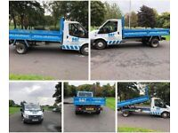 FORD TRANSIT 350 tipper RWD DROPSIDE LORRY White Manual Diesel, 2011 WITH 4.5 ton SPRINGS 140 BHP