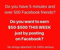 Who wants to make $$$$